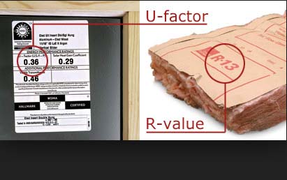 Replacement window u factor vs r value the window dog for Window insulation values